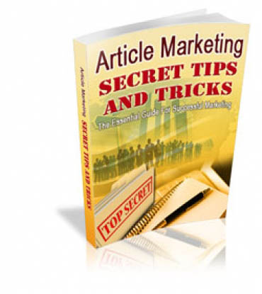Article Marketing Secret Tips And Tricks