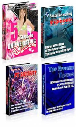 4 Private Label eBook Pack