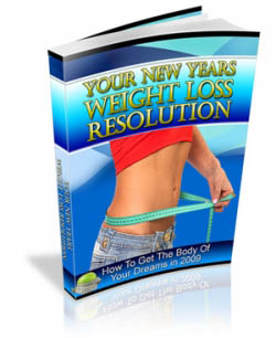 Your New Years Weight Loss Resolution